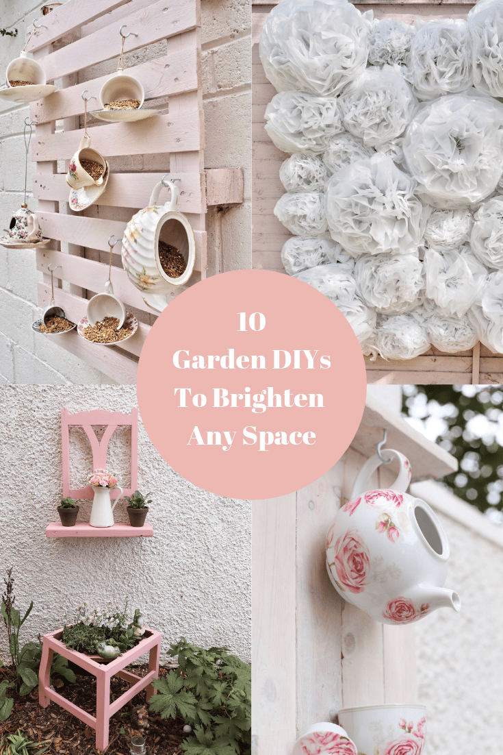 10 garden DIYs to brighten up your space