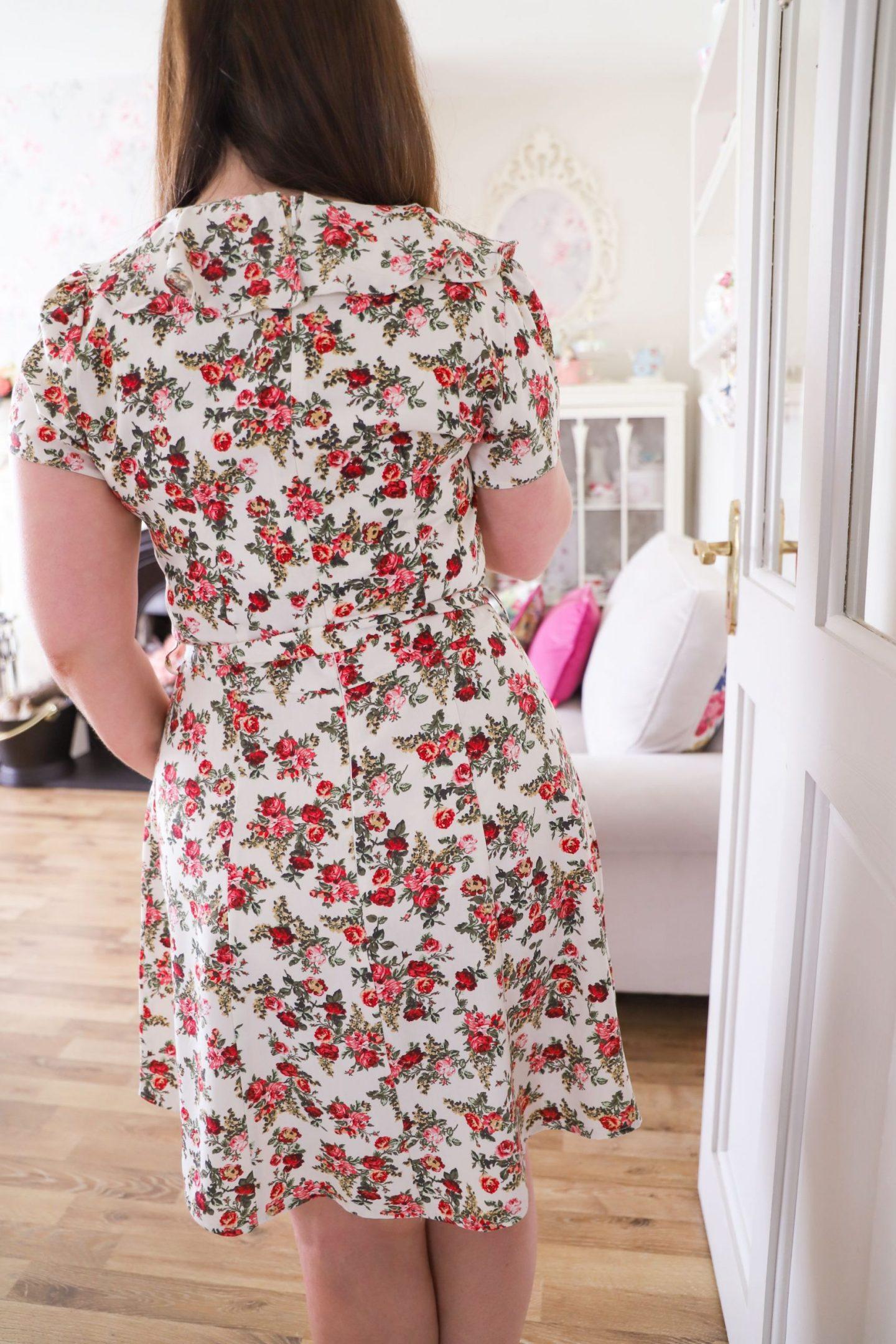 How to shorten a midi dress