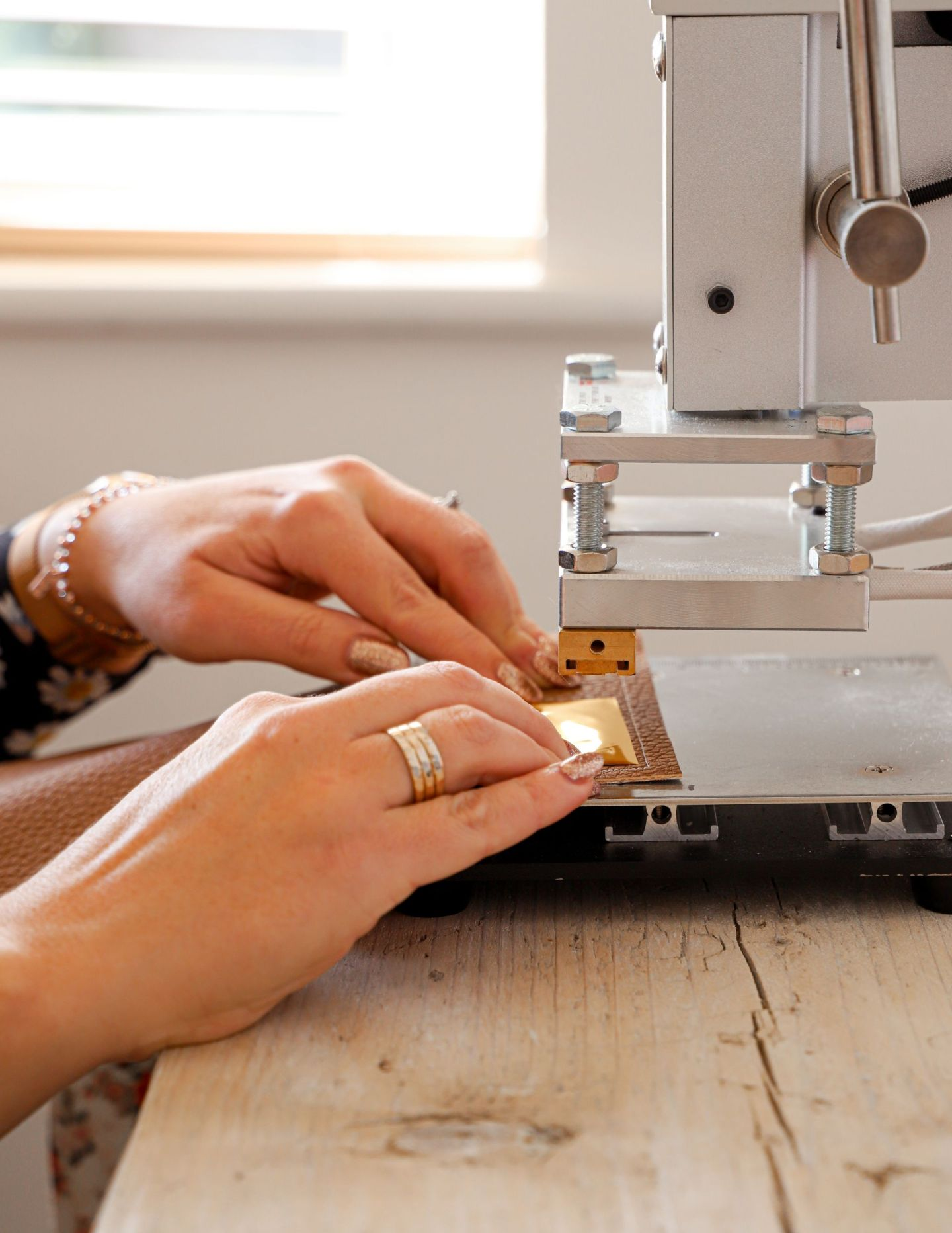 How to emboss with farfetched accessories.ie