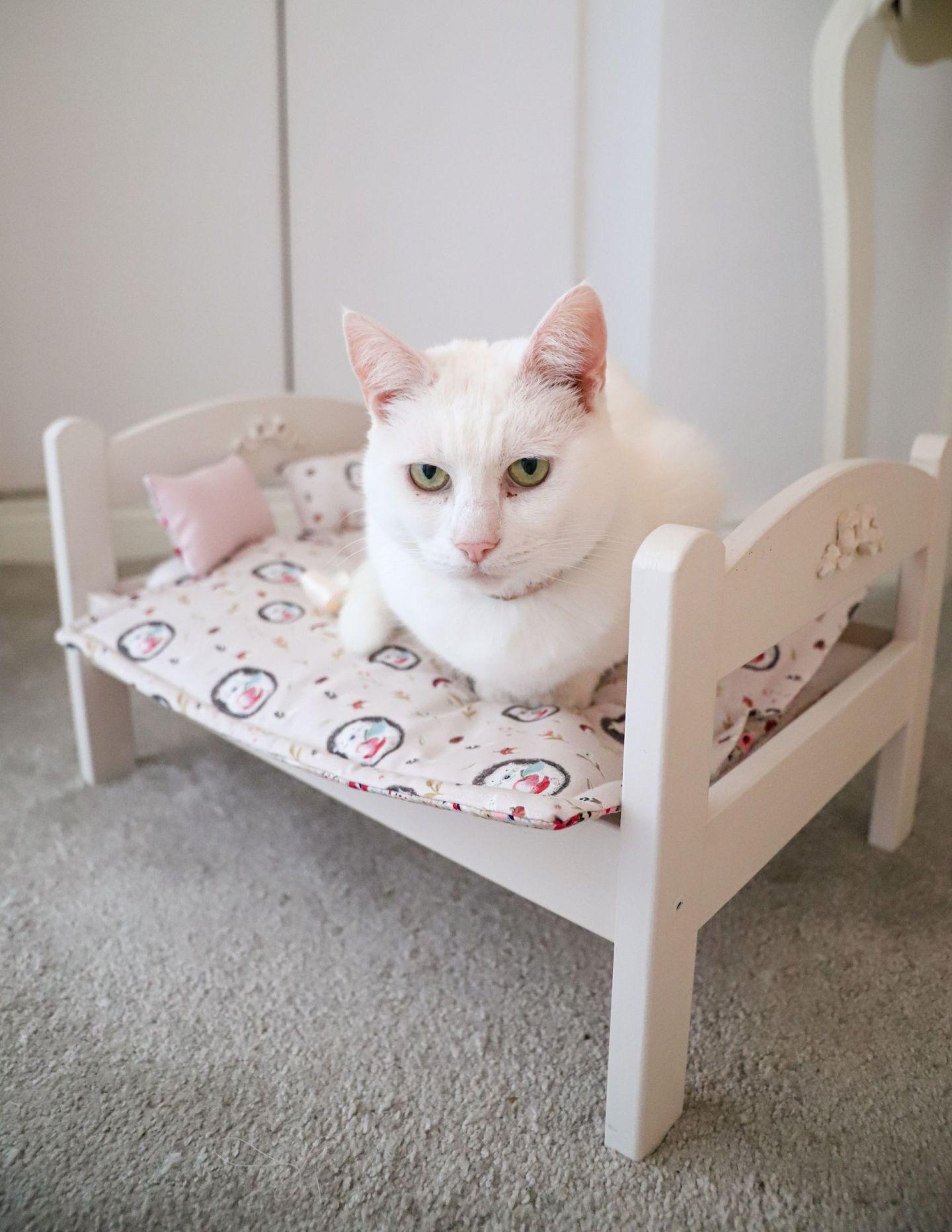 Ikea Duktig doll bed makeover hack diy