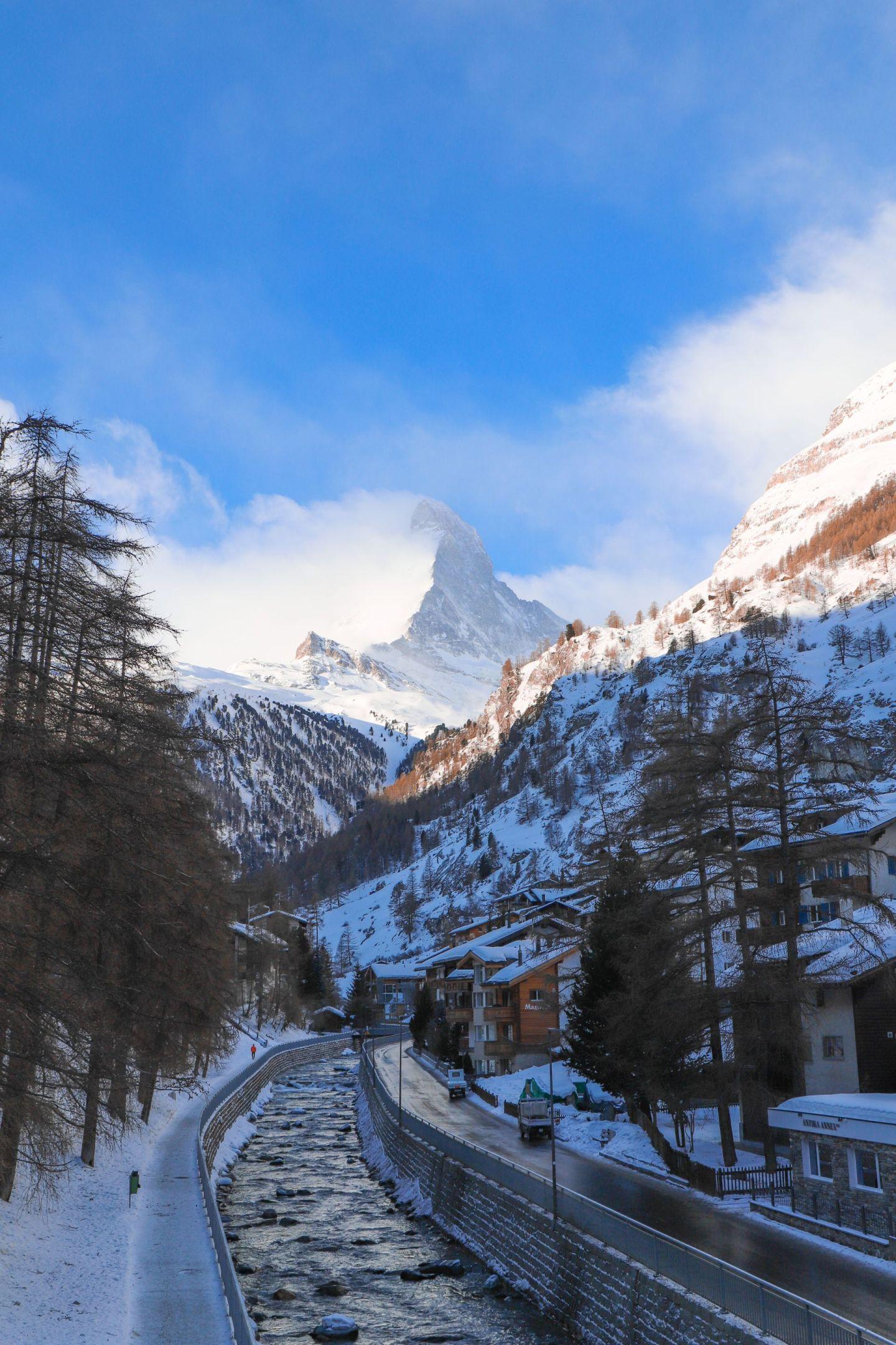 The Matterhorn, A Solo Snowy Switzerland Adventure