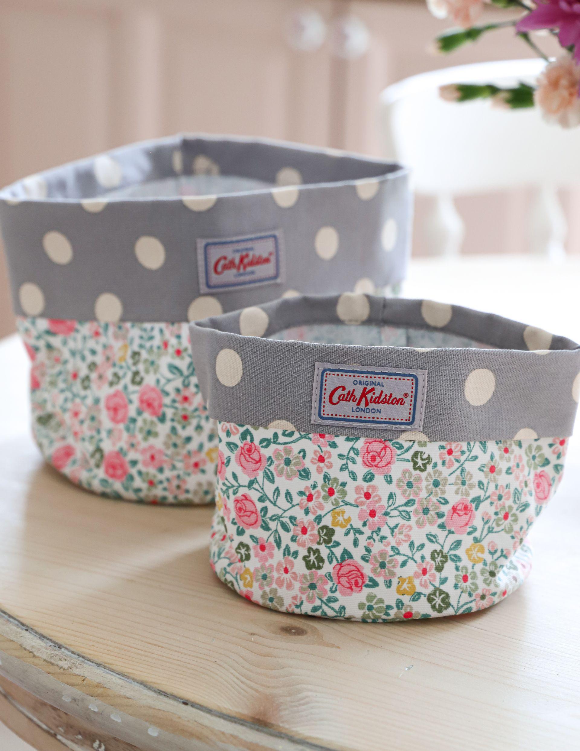 Cath Kidston storage baskets