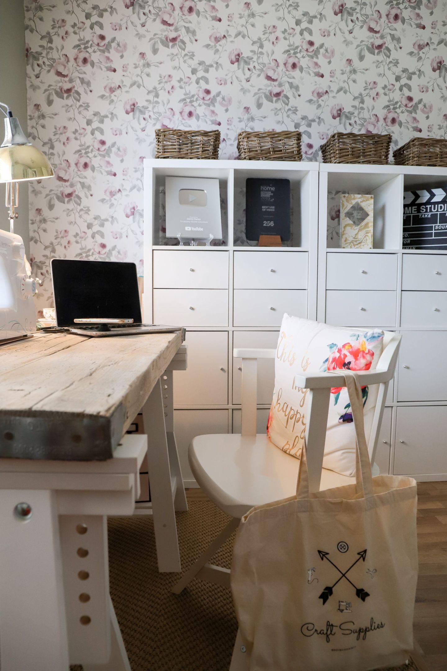 Ikea Kallax craft storage