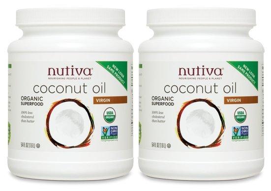 nutiva coconut oil low price 2pk - Aceite de Coco, el Cosmético Perfecto