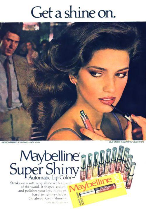 ce8bb872d1bfe50224d9d194eee0fe4d makeup ads retro makeup - Gia Carangi, la Primera Supermodelo