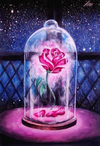 flor bella y la bestia e1527934018821 - La Rosa de la Bella y la Bestia