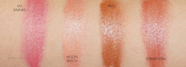 swatches beach sticks e1532871175959 - Maquillaje Espectacular en Verano