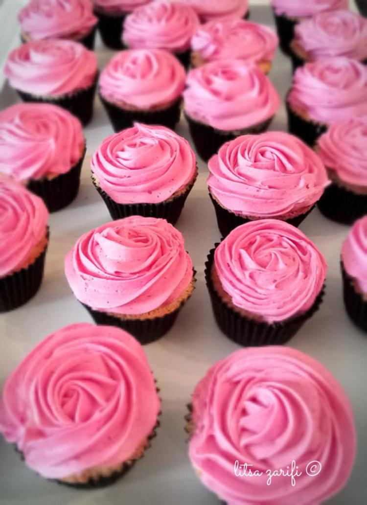 Cupcakes με άρωμα βανίλιας και κανέλας