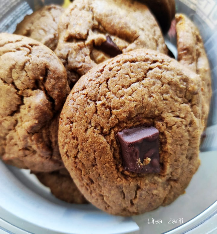 soft cookies with coconut sugar