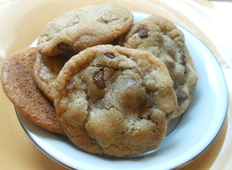 Λαστιχωτά μπισκότα αμυγδάλου