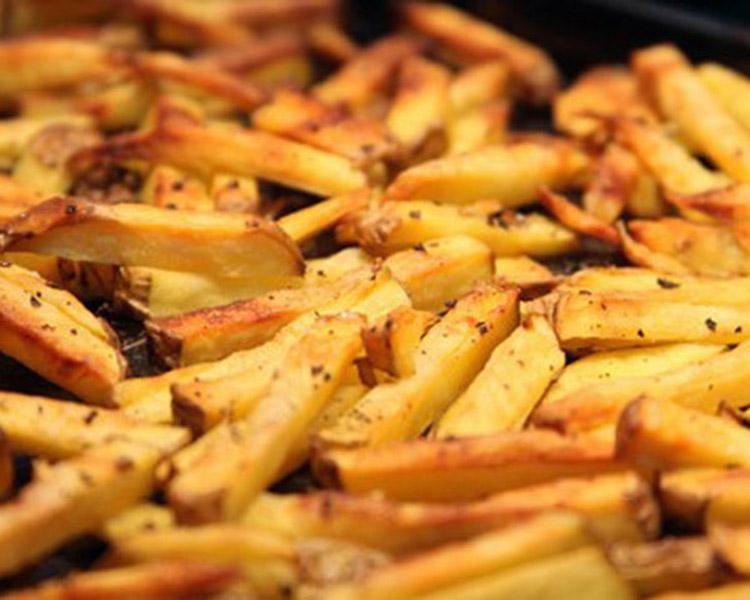Πατάτες σαν τηγανιτές