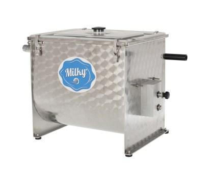 πρωτοσέλιδο - Χειροκίνητη μηχανή παρασκευής βουτύρου - Βουτυροκάδη – Βουτυρομηχανή - Milky FJ 32 Η