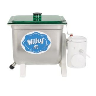 πρωτοσέλιδο - Ηλεκτρική μηχανή παρασκευής βουτύρου - Βουτυροκάδη – Βουτυρομηχανή - Milky FJ 10