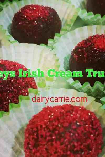 Booze Balls! Baileys Irish Cream Truffles Recipe.