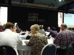 You never know who you will sit next to and learn from at an Alltech Event!