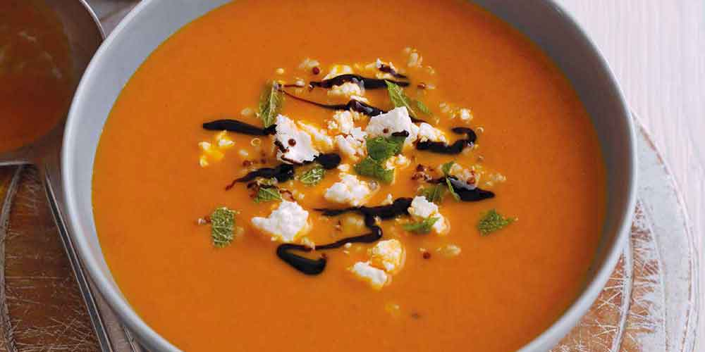 Smoky Carrot Soup