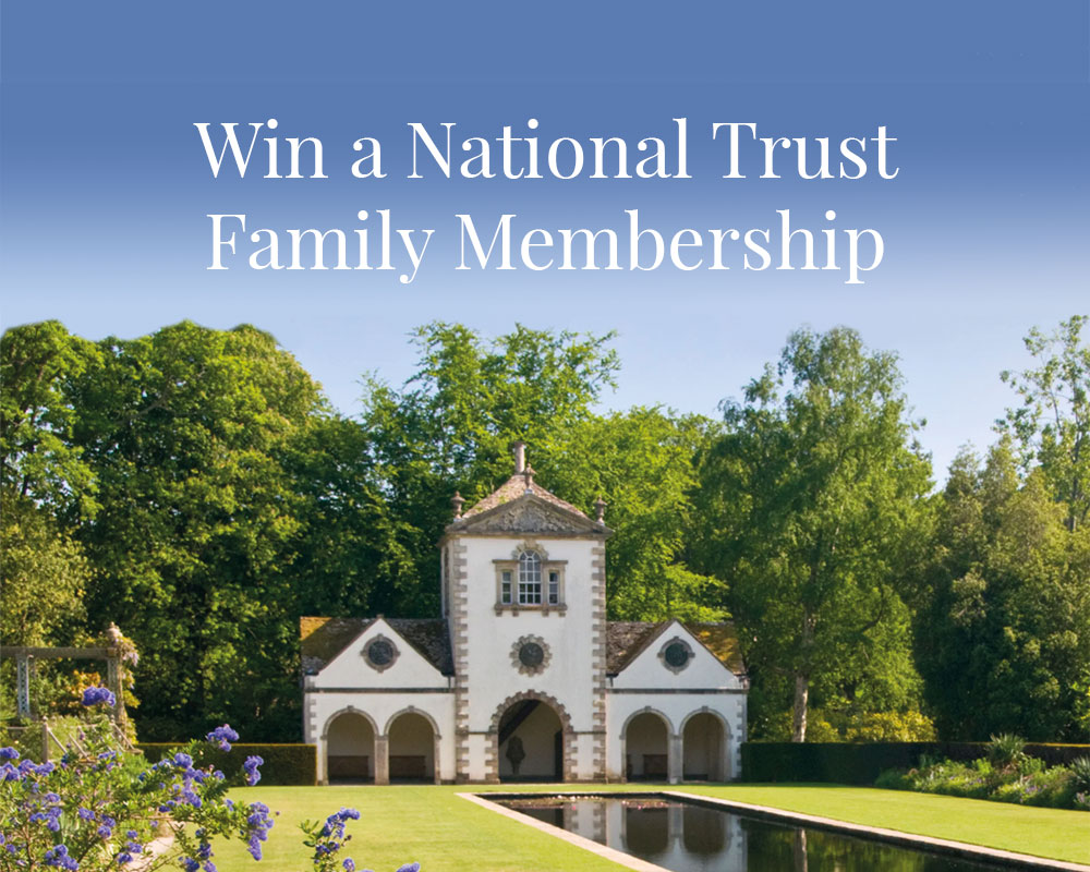 Win a National Trust Family Mambership