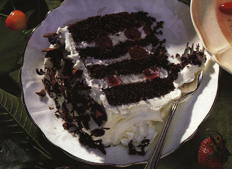 Real Black Forest Cake Recipe Dairy Goodness