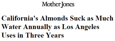 Mother Jones Ca drought