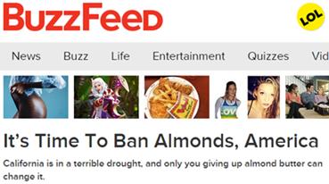 Buzzfeed CA drought