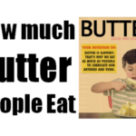 How much Butter people Eat