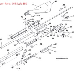 Daisy Air Rifle Parts Diagram Wiring Of Motorcycle Honda Xrm 110 880 Exploded Diagrams Order Links Net Old Style