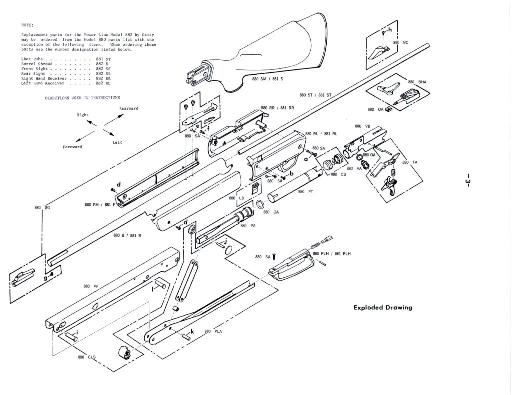 Old Style Daisy 880 Factory Service Manual