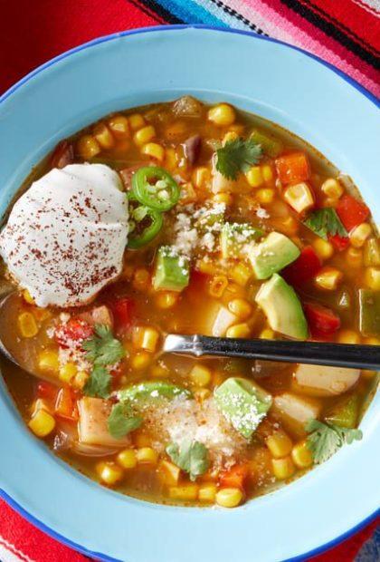 street corn soup