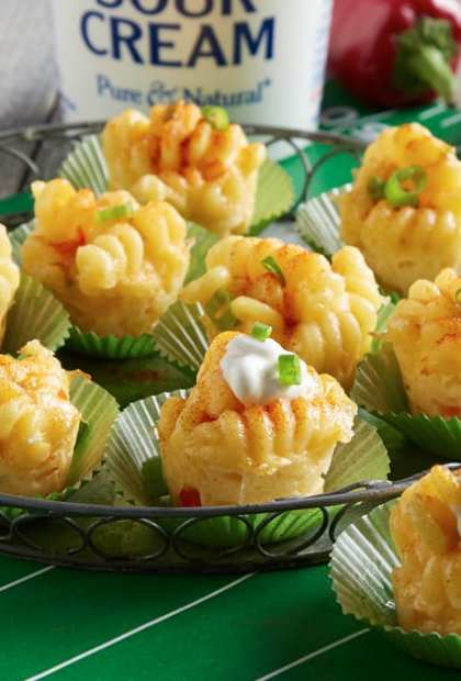 spicy mini mac and cheese bites