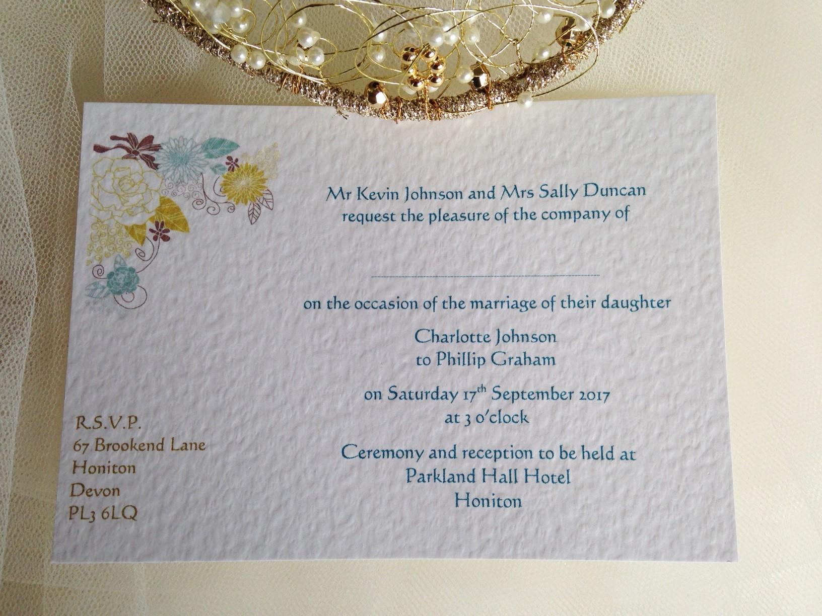 Baptism Invitations Postcard Style