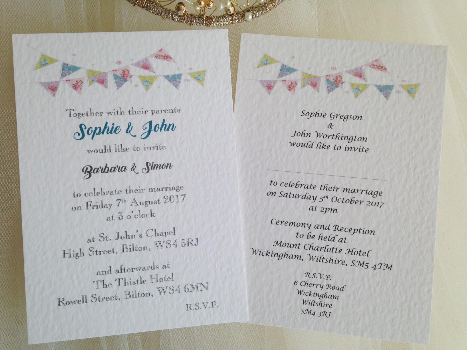 Cheap Quick Wedding Invitations