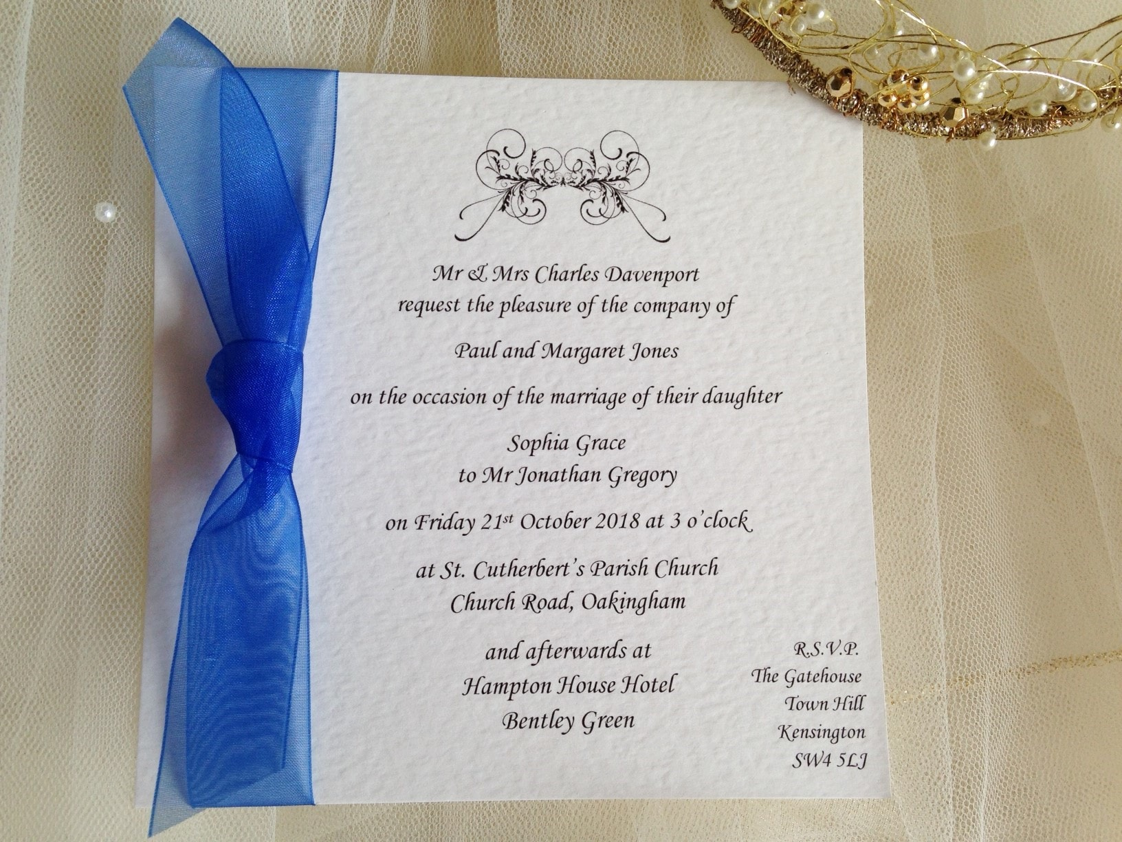 Daisy Wedding Invitations