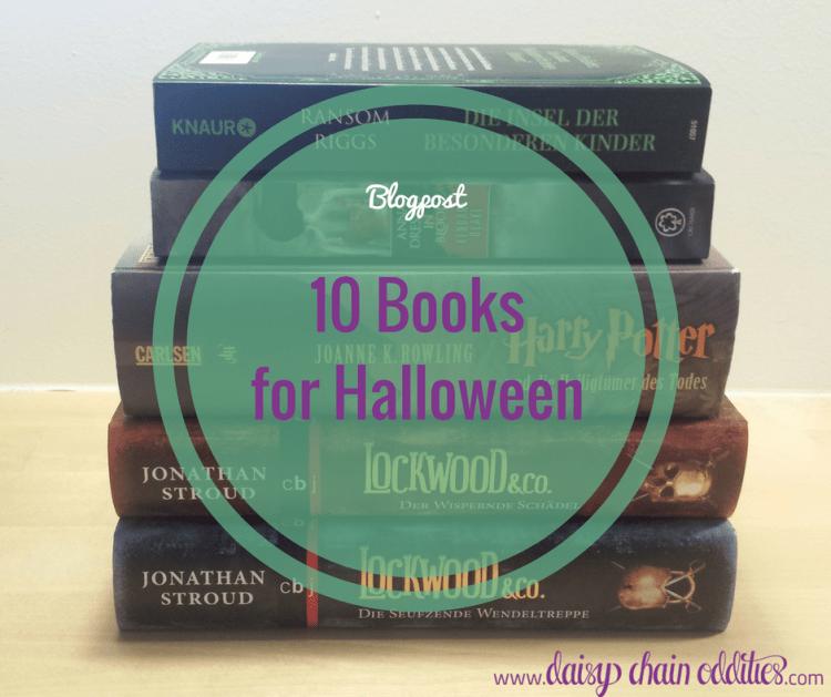 10 Bücher für Halloween