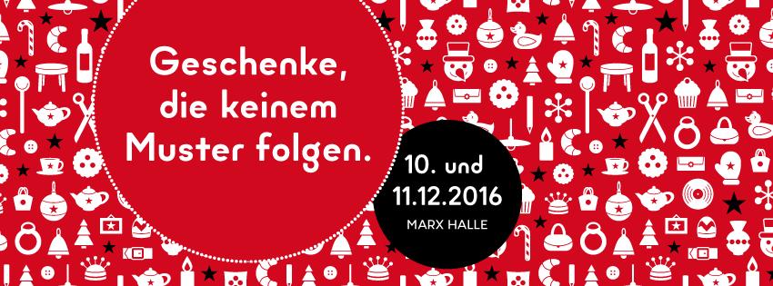 Edelstoff Designmarket, 10. and 11.12.2016, Marx Halle