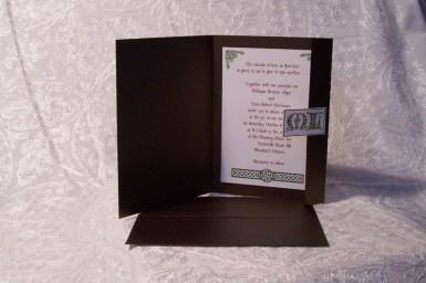 Irish Cream invite package
