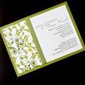 Baroque Olive 5x7 invite