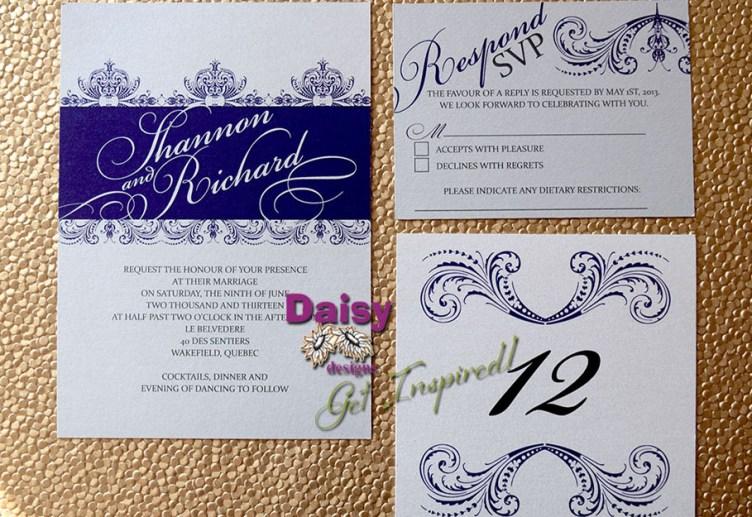 Wedding Floral Lace suite