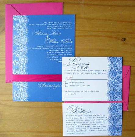 Cobalt Lace package