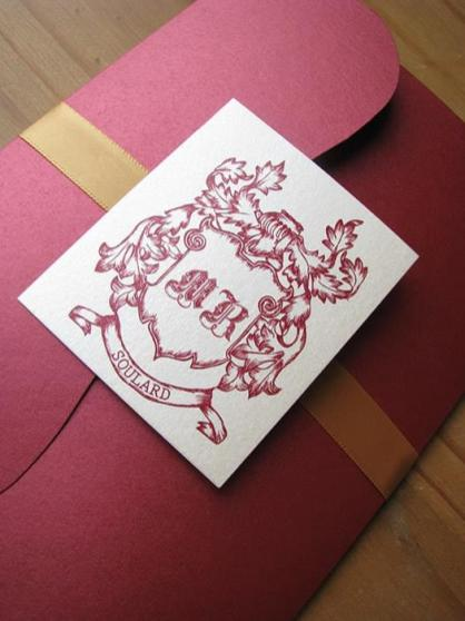 Ruby Filigree monogram