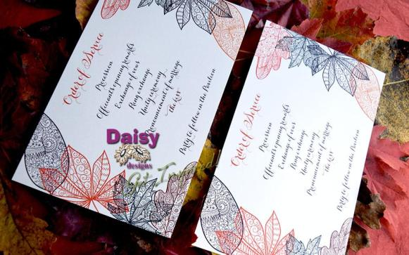 Chelsey's Autumn Rhapsody Program