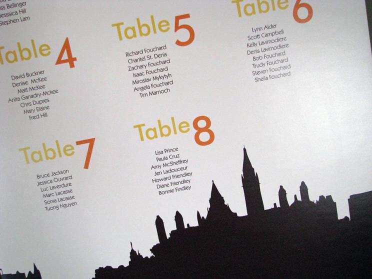 Ottawa Skyline Seating Chart
