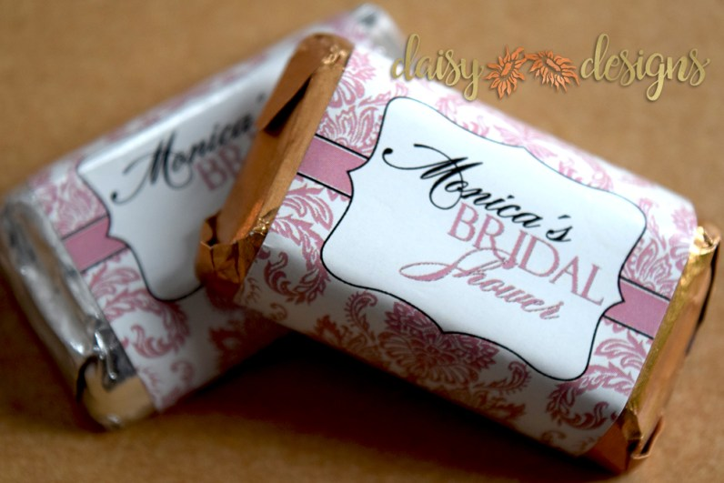 image of Damask Chocolate wrapers