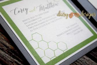 Geometrix invite closeup