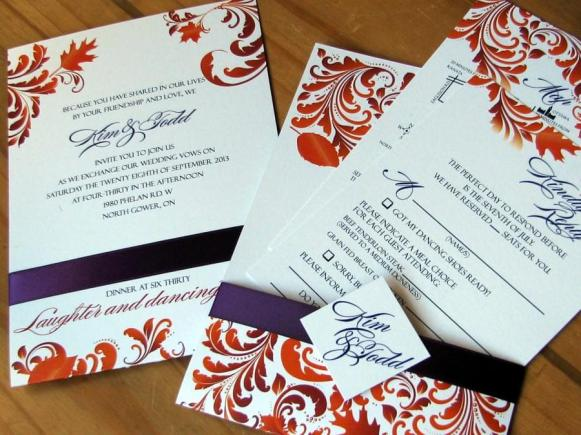 Mulberry Harvest Invitation Package