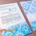 Turquiose Royale invitations