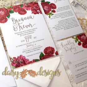 English Roses basic invite set