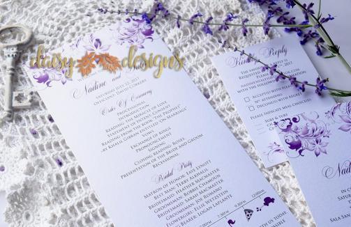 Lilac Blossoms program