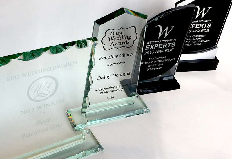 Awards won by Daisy Designs
