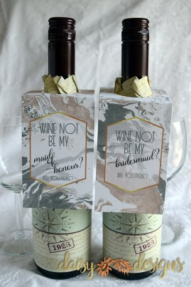 Wine Not? Wine Bottle tags