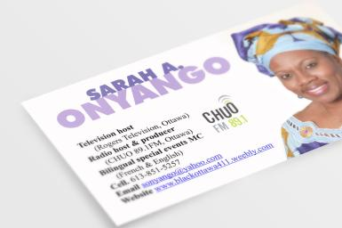 Business card - personal